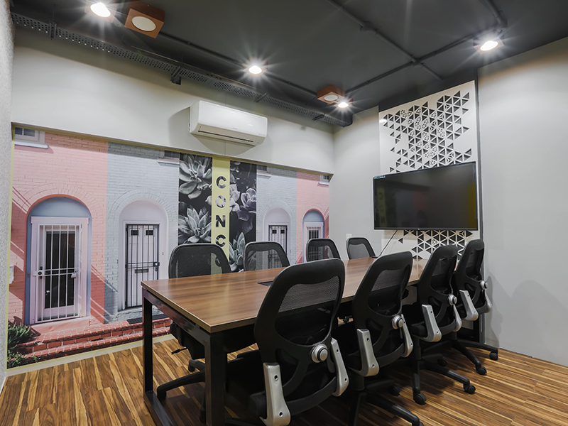 Conference Room at Sky Space Coworking Offices