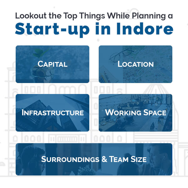 Planning for startup in indore
